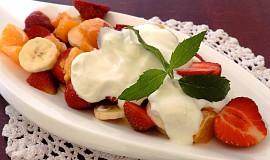 Jahodový salát