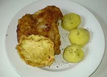 Kůzlečí řízek s brambory