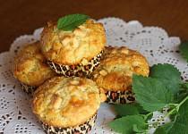 Likérové muffiny s bílou čokoládou