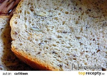 Pšenično-žitný chleba se směsí semínek