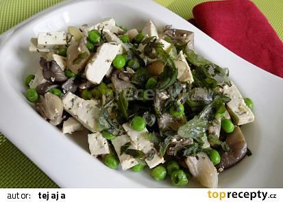Tofu na hlívě