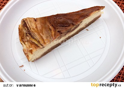 Banánový dortík s nutellou
