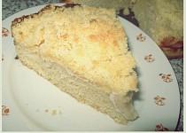 Jablečný koláč s drobenkou (bez vajec)