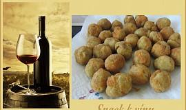 Olivy alla Ascolana - smažené olivy s  masovou směsí