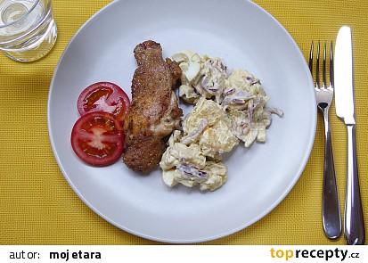 Rozmarýnové kuře s bramborovým salátem