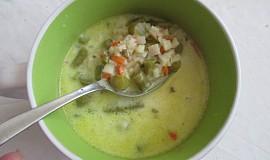 Smetanová chřestová polévka