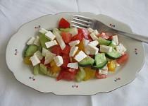 Šopský salát jednoduše