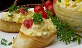 Vajíčková pomazánka s mrkví