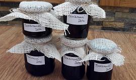 Borůvková marmeláda s chia