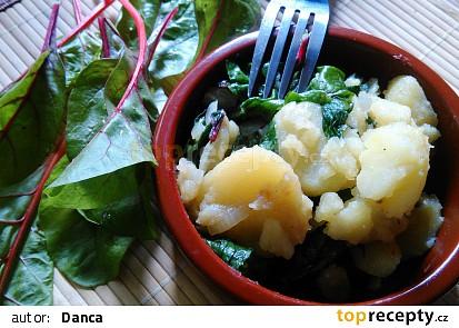 Chorvatská blitva (krumpir i blitva)
