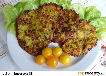 Cuketovo zeleninové placičky