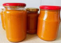 Meruňkovo - jablkovo - mrkvová přesnídávka