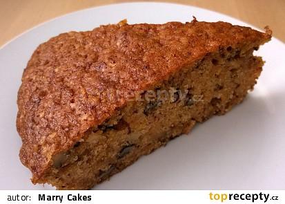 Mrkvový dort s oříšky