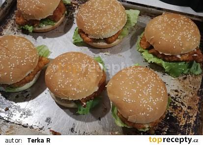Nejlepší kuřecí burger