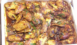 Pikantní pečená kuřecí křidýlka
