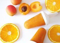 Pomerančovo-meruňkový nanuk