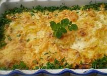 Savojské brambory se sýrem