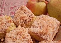 Hruškovo-jablečné řezy s vůní kokosu