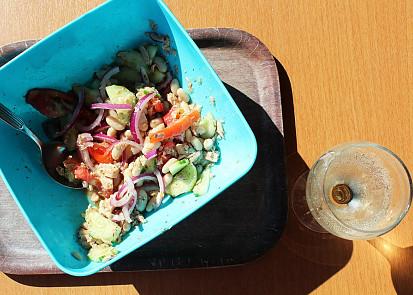 Piknikový rychlý salát