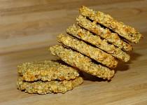 Zdravé sušenky s kokosem