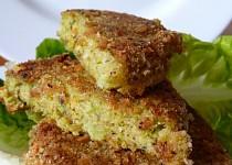Brokolicové karbanátky se lněným semínkem