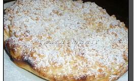 Drobenkový tvarohový koláč z remosky