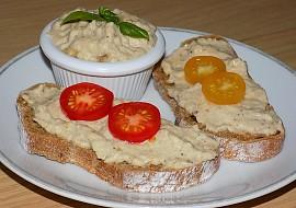 Lilková pomazánka s majonézou