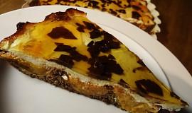 Meruňkový koláč s čokoládou