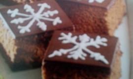 Perníkové kostky s čokoládovou polevou
