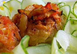 Bramborové placičky se zeleninou