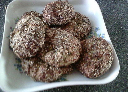 Cuketo-semínkové karbanátky