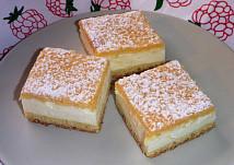 Smetanový koláč - falešný tvarohový