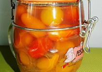 Kořeněná třešňová rajčata