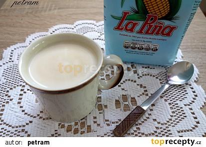 Mléčný nápoj s gofiem