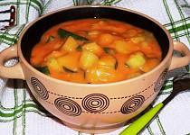 Okurkovo - bramborový guláš