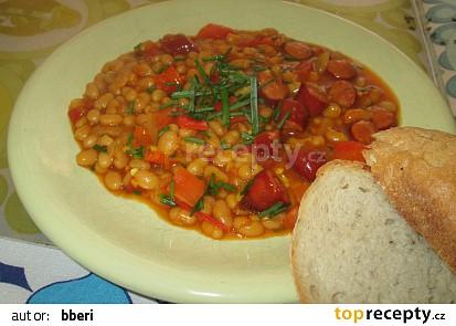 Pálivý fazolový kotlík