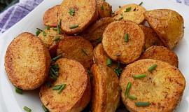 Pečené kmínové brambory