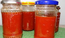 Rajčatová šťáva - polotovar