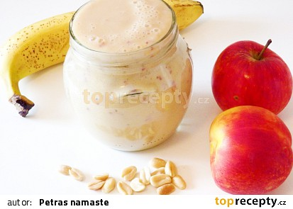 Smoothie s jablkem a nektarinkou