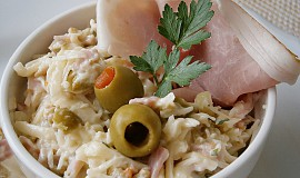 Sýrová pomazánka s olivami