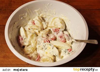 Tatarský bramborový salát