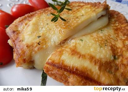 Uzený sýr v těstíčku