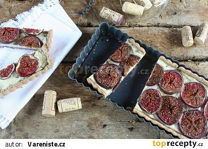 Fíkový koláč se sýrem