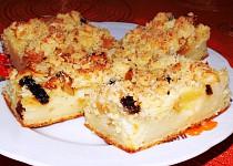Jablkový koláč se sýrem