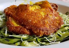 Kuřecí řízek v sýrové krustě