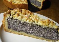 Německý dort s mákem a tvarohem