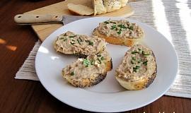 Pomazánka z uzené makrely, Nivy a sýru Cottage
