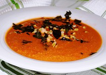 Rychlá paprikovo-rajčatová polévka