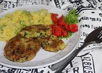 Zeleninové řízečky s česnekem