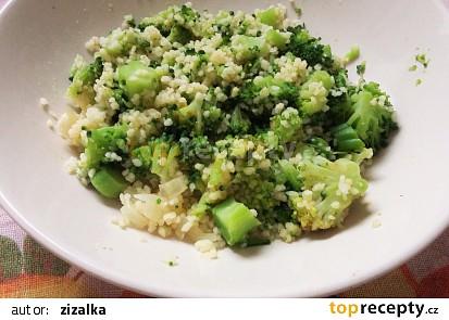 Brokolice nastavená kuskusem